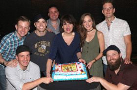 Bandstand Celebrates 100 Performances With Cake and Free Streaming of Cast Album