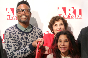 Billy Porter, Daphne Rubin-Vega, and More Cut Ribbon on A.R.T./New York Theatres