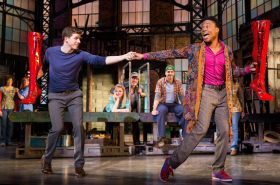 Flashback Friday: Stark Sands Launched Kinky Boots' History of Right Guys