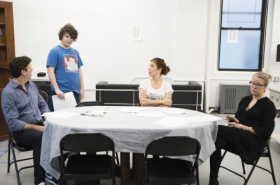 Kate Walsh, Jeremy Shamos, and More in Rehearsal for If I Forget