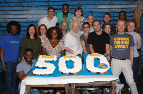 Broadway's Come From Away Hits 500 Performances