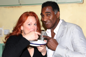 Norm Lewis, Carolee Carmello, and New Stars of Sweeney Todd Meet the Press