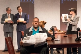 "Elevator Repair Service's '""Measure for Measure'' Plays the Public Theater"