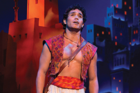 Original Broadway Star Adam Jacobs to Lead the North American Tour of Disney's Aladdin