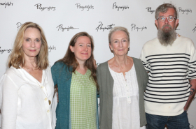 Kathleen Chalfant, Lisa Emery, and More at First Rehearsal for For Peter Pan