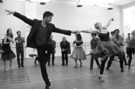 In Rehearsal With Matt Doyle, Natalie Cortez, and Paper Mill's West Side Story