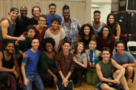 Meet the New Touring Company of Jonathan Larson's Rent