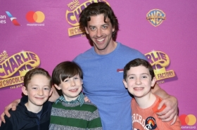 Christian Borle and Stars of Charlie and the Chocolate Factory Kick Off Rehearsal