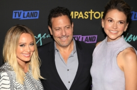 Sutton Foster, Hilary Duff, and More at the Season Premiere Party of Younger