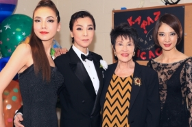 Original Chicago Star Chita Rivera Meets All-Female Japanese Cast