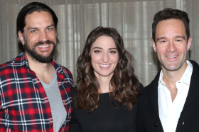 Waitress Welcomes New Stars Sara Bareilles, Will Swenson, and Chris Diamantopoulos