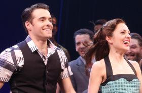 Bandstand, Starring Laura Osnes and Corey Cott, Celebrates a Swingin' Opening Night