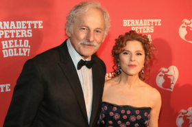 Bernadette Peters Walks the Red Carpet at Hello, Dolly!