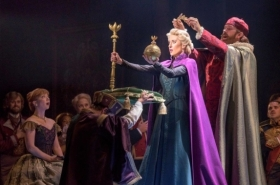 Cast Members of Frozen Celebrate the Musical's Pre-Broadway Opening Night