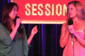 Flashback Friday: Mean Girls's Taylor Louderman and Ashley Park Cliqued Over Gaga
