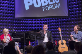 Benj Pasek, Justin Paul, and More Participate in Public Forum: A Festival of Songwriting