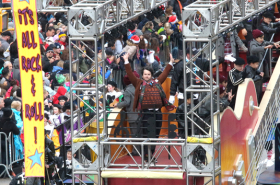 Mariah Carey, School of Rock, Jennifer Nettles at the Macy's Thanksgiving Day Parade