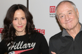Heisenberg Stars Mary-Louise Parker and Denis Arndt Meet the Press