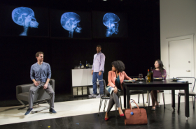 Lyrida R. Diamond's Smart People Opens at Long Wharf Theatre
