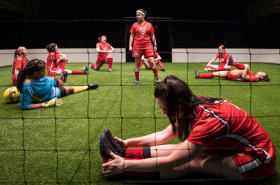 First Look at The Wolves at the Goodman Theatre