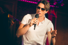 Aladdin and Anastasia Stars Adam Jacobs and Derek Klena Host Broadway Prince Party