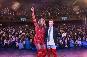 It's 2,000 Bows for Kinky Boots on Broadway