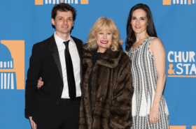 M*A*S*H Star Loretta Swit Attends Opening Night of Church & State
