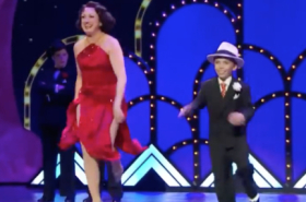 "Flashback Friday: Caroline O'Connor and Luke Spring Tap ""You'll Shoot Your Eye Out"""
