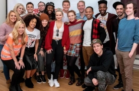 Dove Cameron and Company of Clueless, the Musical Begin Rehearsals