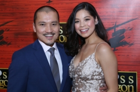 Eva Noblezada, Rachelle Ann Go, and More Celebrate Opening Night of Miss Saigon