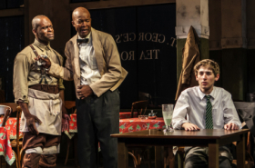 "First Look at Athol Fugard's ""Master Harold"" ... and the Boys at Signature Theatre"