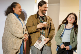 First Look at Playwrights Horizons' World Premiere of This Flat Earth