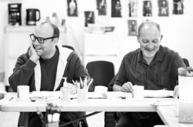 Danny Burstein, Rebecca Naomi Jones, and More Rehearse Describe the Night