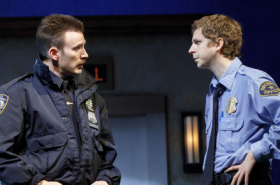 Chris Evans and Michael Cera Go Head-to-Head in Lobby Hero