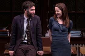 Watch Josh Radnor and Elizabeth Reaser in Richard Greenberg's The Babylon Line