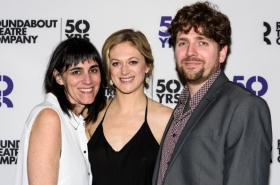Marin Ireland and Tony Nominee Leigh Silverman Celebrate On the Exhale Opening