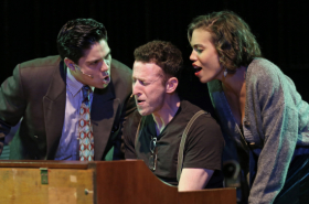 Nick Blaemire, Ciara Renée, and George Salazar Sing Music of Jonathan Larson