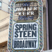 Bruce Springsteen Gets His Broadway Marquee