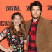 Anna Chlumsky, Adam Pally, and Company of Cardinal Meet the Press