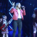 "Sporty Spice Mel C Performs ""Wannabe"" With School of Rock London Cast"
