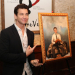 Andy Karl Honored With Groundhog Day Painting at Tony's di Napoli Restaurant