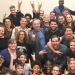 Andrew Lloyd Webber Visits School of Rock National Tour Cast