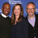 Six Degrees' Allison Janney, John Benjamin Hickey, and Corey Hawkins Meet the Press