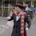 With Ben Kingsley's Help, James Corden Plays Mary Poppins in a Crosswalk