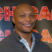 Football Legend Eddie George Meets the Press Before Starring in Broadway's Chicago