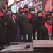 Broadway Inspirational Voices Puts On a Holiday Concert in Times Square