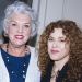Bernadette Peters and Tovah Feldshuh Visit Tyne Daly Backstage at Broadway's Mothers and Sons