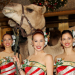 The 2014 Rockettes Meet Their Camel Cohorts