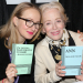 Front Page's Halley Feiffer and Holland Taylor Autograph Their Plays at BroadwayCon