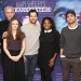 Cast and Company of  Mary Shelley's Frankenstein Meet the Press